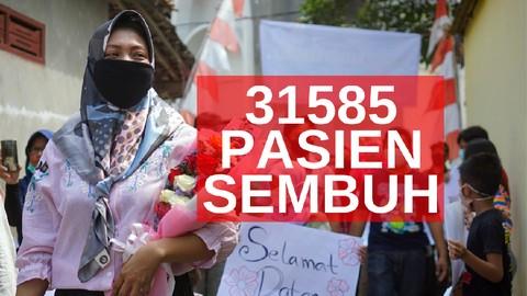 VIDEO: 31.585 Pasien Sembuh