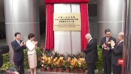 VIDEO: China Pamer Kantor Intelijen di Hong Kong