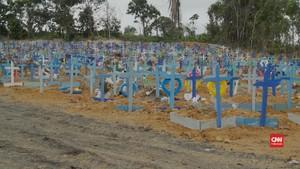 VIDEO: Brasil Cetak Rekor Kasus  Covid-19 Harian 45 Ribu