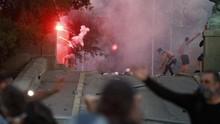 Demo Tolak Lockdown di Inggris Ricuh, 10 Orang Ditangkap