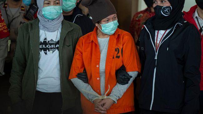 Maria Pauline Lumowa sudah ditahan selama 20 hari dan kembali diperpanjang selama penyidikan belum rampung.