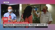 VIDEO: Pegawai Kemendikbud Positif Covid-19