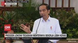 VIDEO: Presiden Tegaskan Menterinya Bekerja Lebih Keras