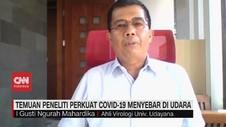 VIDEO: Temuan Peneliti Perkuat Covid-19 Menyebar di Udara
