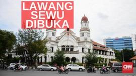 VIDEO: Wisata Lawang Sewu Semarang Kembali Dibuka