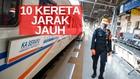 VIDEO: Per 10 Juli, KAI Operasikan 10 Kereta Api Jarak Jauh
