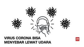 VIDEO: Virus Corona Bisa Menyebar Lewat Udara