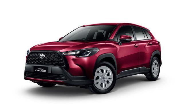 Harga Corolla Cross bensin 1.800 cc A/T lebih murah Rp35 juta dibanding varian terendah Fortuner.