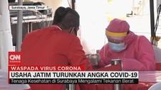 VIDEO: Usaha Jatim Turunkan Angka Covid-19