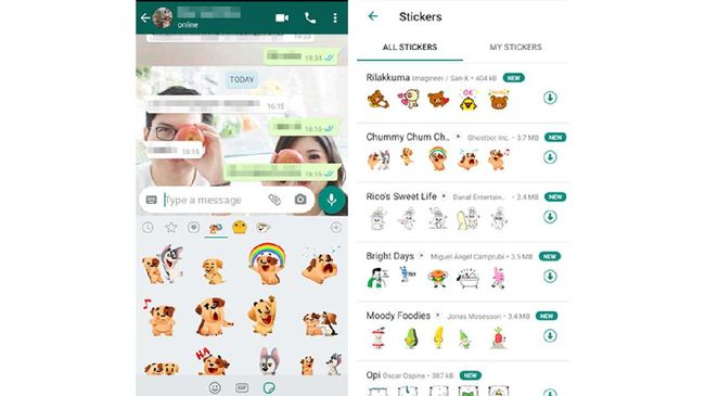 WhatsApp Luncurkan Animated Stickers