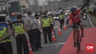 Sanksi Pesepeda Masuk Tol, Polisi Tunggu Laporan Jasa Marga