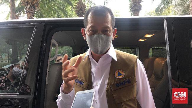 Jubir Satgas Covid-19, Wiku Adisasmito menyebut Ketua Doni Monardo sudah mendaftar menjadi relawan uji klinis vaksin virus corona yang dikembangkan Sinovac.