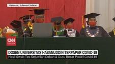 VIDEO: Dosen Universitas Hasanuddin Terpapar Covid-19