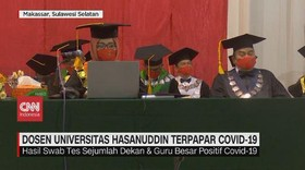 VIDEO: Dosen Universitas Hasanuddin Terpapar Covid-19