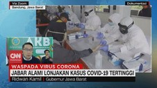 VIDEO: Jabar Alami Lonjakan Kasus Covid-19 Tertinggi