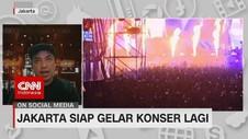 VIDEO: Jakarta Siap Gelar Konser Lagi