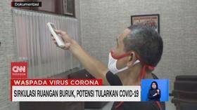 VIDEO: Sirkulasi Ruangan Buruk, Potensi Tularkan Covid-19