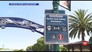 VIDEO: Kembali Buka, Downtown Disney Diserbu Wisatawan