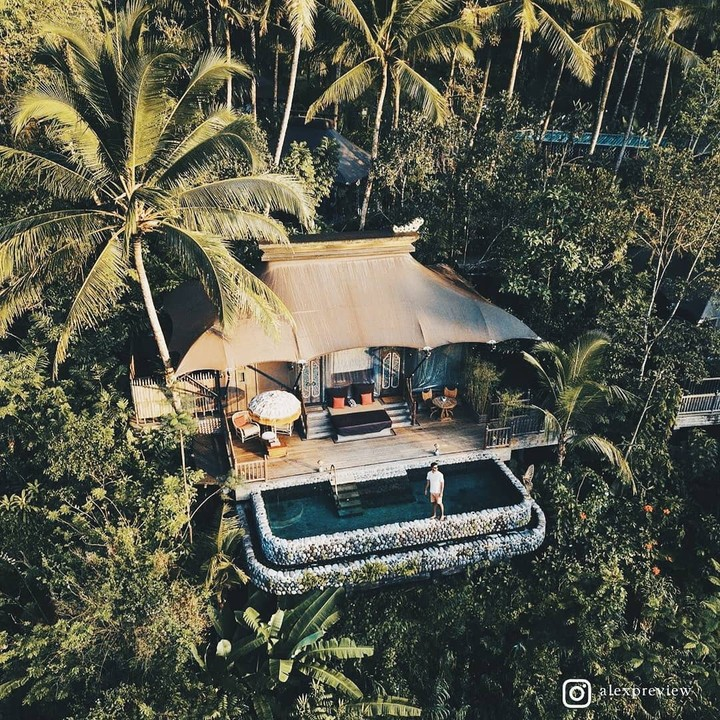 Capella Ubud hotel terbaik dunia versi Travel + Leisure