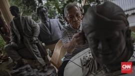 FOTO: Maestro Patung Realis dari Tanah Indonesia
