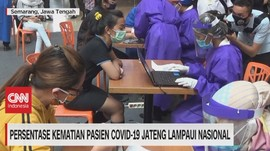VIDEO: Kematian Pasien Covid-19 Jateng Lampaui Nasional