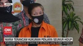 VIDEO: Maria Lumowa Terancam Hukuman Penjara Seumur Hidup