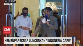 VIDEO: Kemenparekraf Luncurkan 'Indonesia Care'