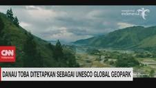 VIDEO: Danau Toba Ditetapkan Sebagai Unesco Global Geopark