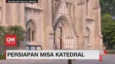 VIDEO: Jelang Misa Perdana Gereja Katedral Jakarta