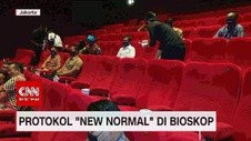 VIDEO: Protokol New Normal di Bioskop