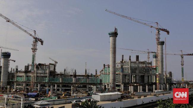 Jakpro menyebut pembangunan Jakarta Internasional Stadion (JIS) ditargetkan selesai pada Oktober 2021 mendatang.