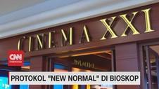 VIDEO: Protokol 'New Normal' di Bioskop