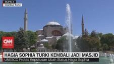 VIDEO: Hagia Sophia Turki Kembali Jadi Masjid