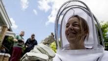 FOTO: Kisah Para Pemburu Lebah yang Siaga saat Pandemi