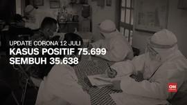 VIDEO: Terus Naik, Jumlah Kasus Positif Corona Tembus 75 Ribu