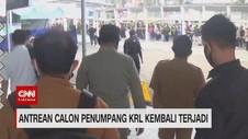 VIDEO: Antrean Panjang Kembali Terjadi di Stasiun Bogor