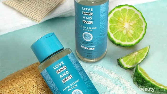 Cintai Tubuh & Lautan Lewat Love Beauty and Planet 'Clean Oceans Edition'