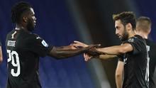 Hasil Liga Italia: AC Milan Imbang Lawan Napoli 2-2