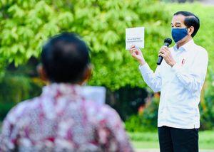 Covid-19 Menyebar Via Udara, Jokowi: Disiplin Pakai Masker!