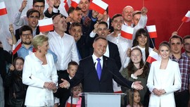 Petahana Andrzej Duda Terpilih Lagi Jadi Presiden Polandia