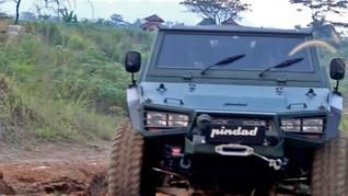 Arti Maung, Nama Rantis Buatan Pindad yang Diberikan Prabowo