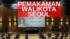 VIDEO: Pemakaman Wali Kota Seoul Disiarkan Online