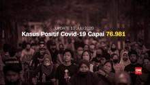 VIDEO: Kasus Positif Covid-19 Capai 76.981 per 13 Juli