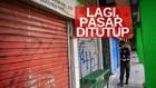 VIDEO: 41 Pedagang Positif Covid, Pasar Cempaka Putih Ditutup