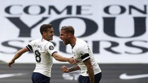 FOTO: Tekuk Arsenal, Tottenham Penguasa London Utara