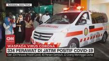 VIDEO: 334 Perawat di Jatim Positif Covid-19