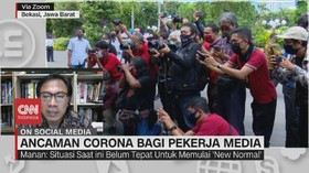 VIDEO: Ancaman Corona bagi Pekerja Media