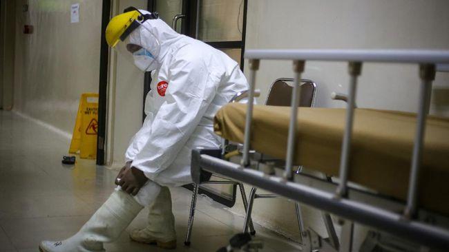 Ruang ICU yang tersedia di DKI Jakarta hanya tinggal 154 dari total 692 ranjang.