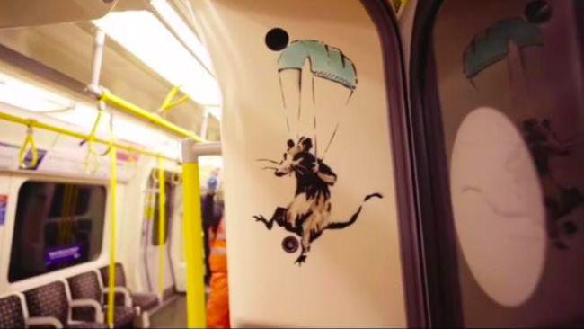 Banksy di London