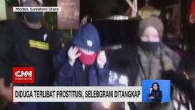 VIDEO: Diduga Terlibat Prostitusi, Selebgram Ditangkap